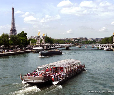 A view of the Seine River and the Eiffel Tower, while commonplace for Parisians, is unforgettable for all who visit the City of Light