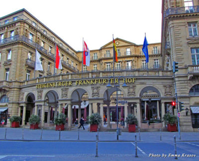 Hotel Steigenberger Frankfurter Hof in Frankfurt am Main