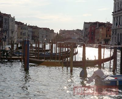 Venice Italy's Grand Canal from the Centurion Palace Hotel