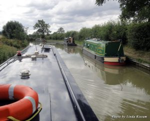 Passing on the canal can be an adventure in itself