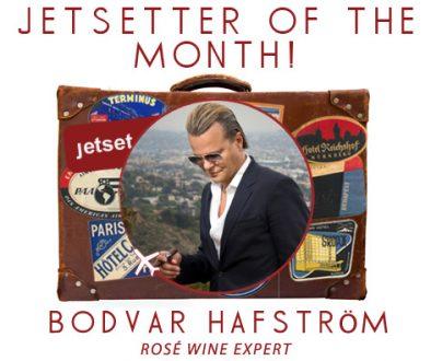 Jetsetter of the Month: Rosé Wine Expert Bodvar Hafström