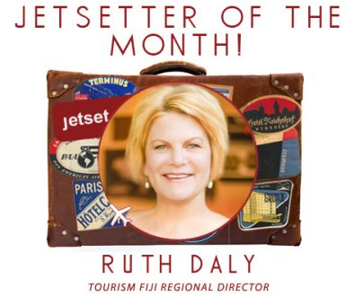 Jetsetter of the Month: Tourism Fiji's Ruth Daly
