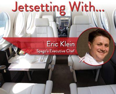 Jetsetting With Spago Las Vegas' Executive Chef Eric Klein