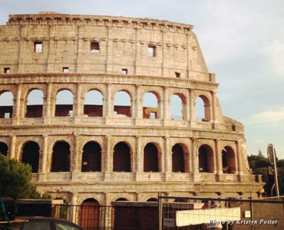 View of the Colosseum