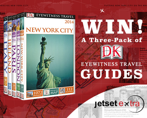 Win a Three-Pack of DK Eyewitness Travel Guides!
