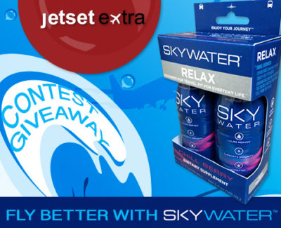 New Giveaway: Fly Better With SkyWater!