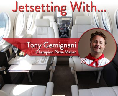 Jetsetting With Champion Pizza-Maker Tony Gemignani