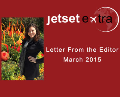 Letter From the Editor: March 2015