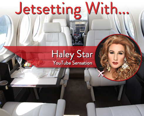 Jetsetting With YouTube Sensation Haley Star