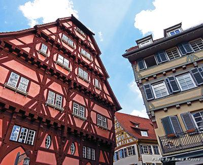 The oldest timber-frame house in Esslingen