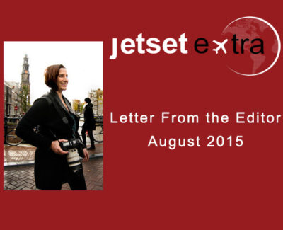 Letter From the Editor: August 2015