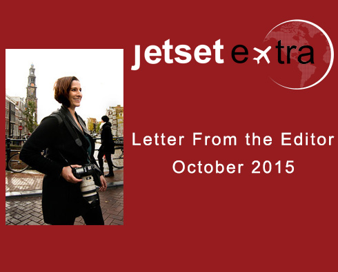 Letter From the Editor: October 2015